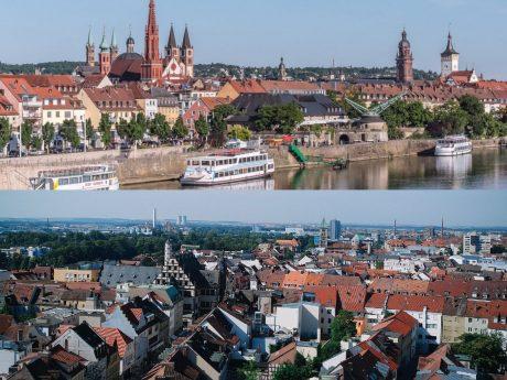 Würzburg und Schweinfurt. Fotos: Pascal Höfig.