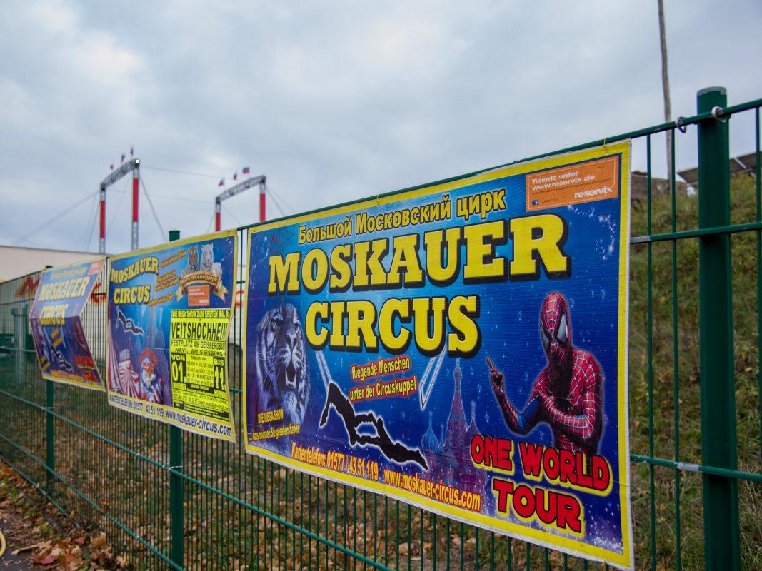 Moskauer Circus in Veitshöchheim. Foto: Pascal Höfig