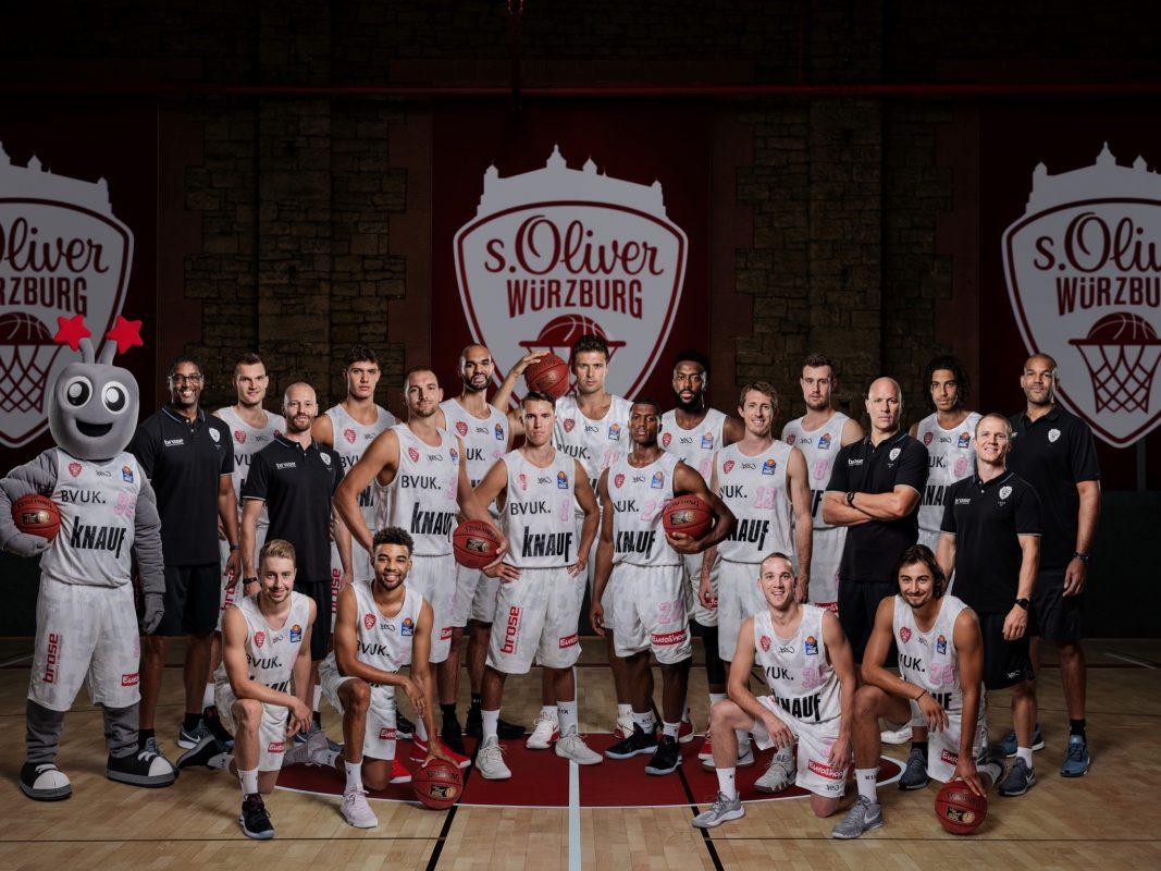 Das Team von s.Oliver Würzburg für die Saison 2018/19. Foto: s.Oliver Würzburg