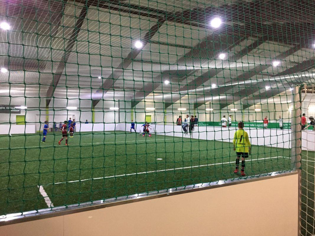 Spielfeld im Soccerpark Würzburg: Foto: WVV