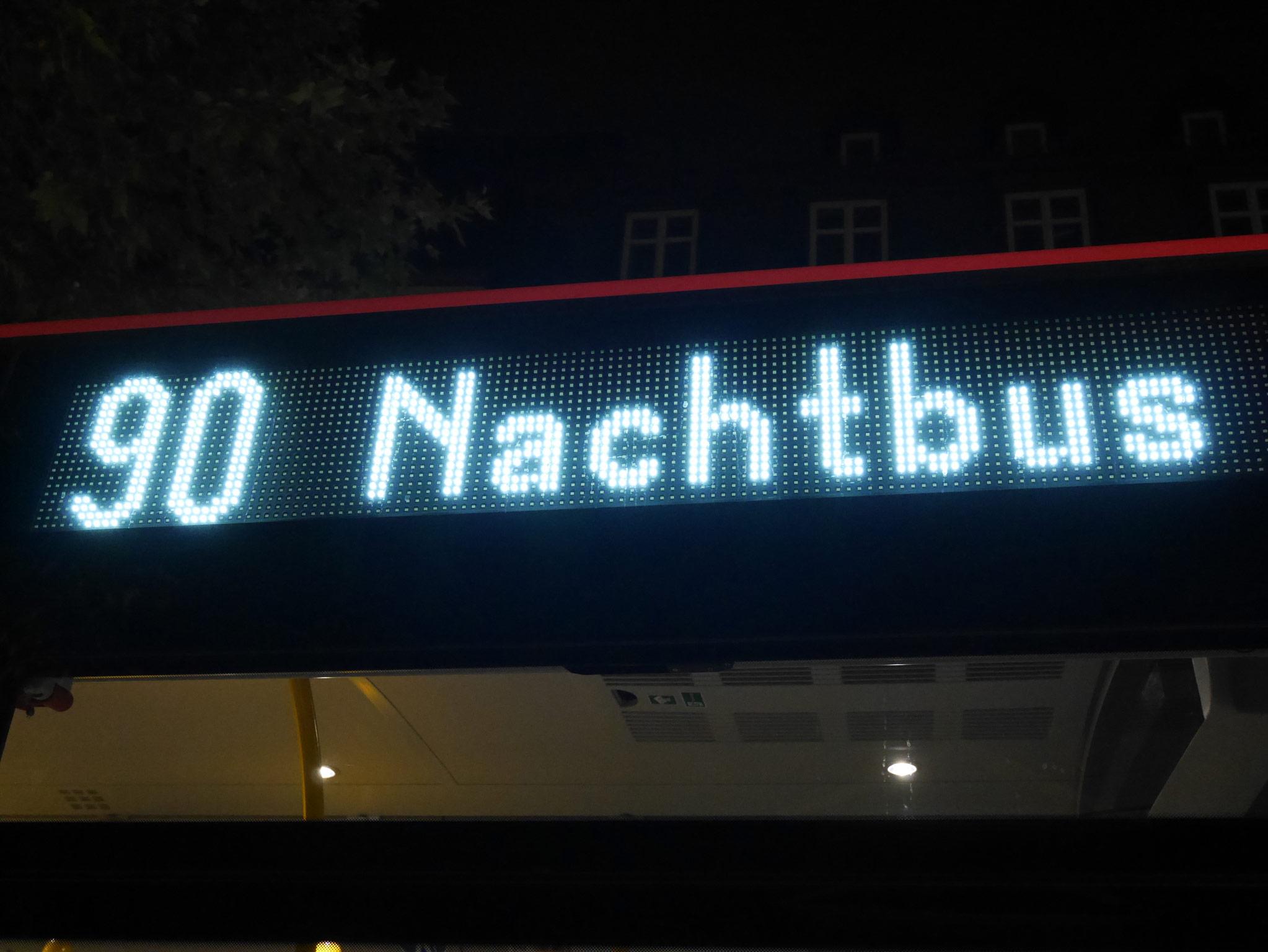 Lieblingsbus aller Nachtschwärmer. Foto: WVV