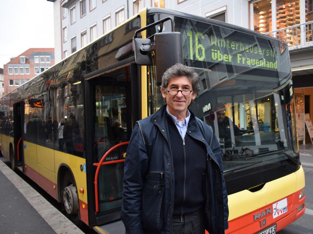 Busfahrer Ratko Radosawljevic. Foto: WVV.