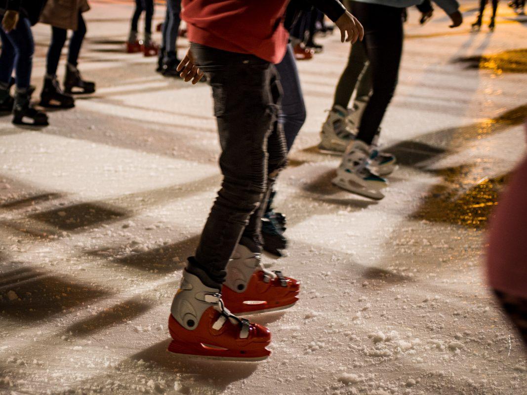 Schlittschuhlaufen. Symbolbild: Pascal Höfig