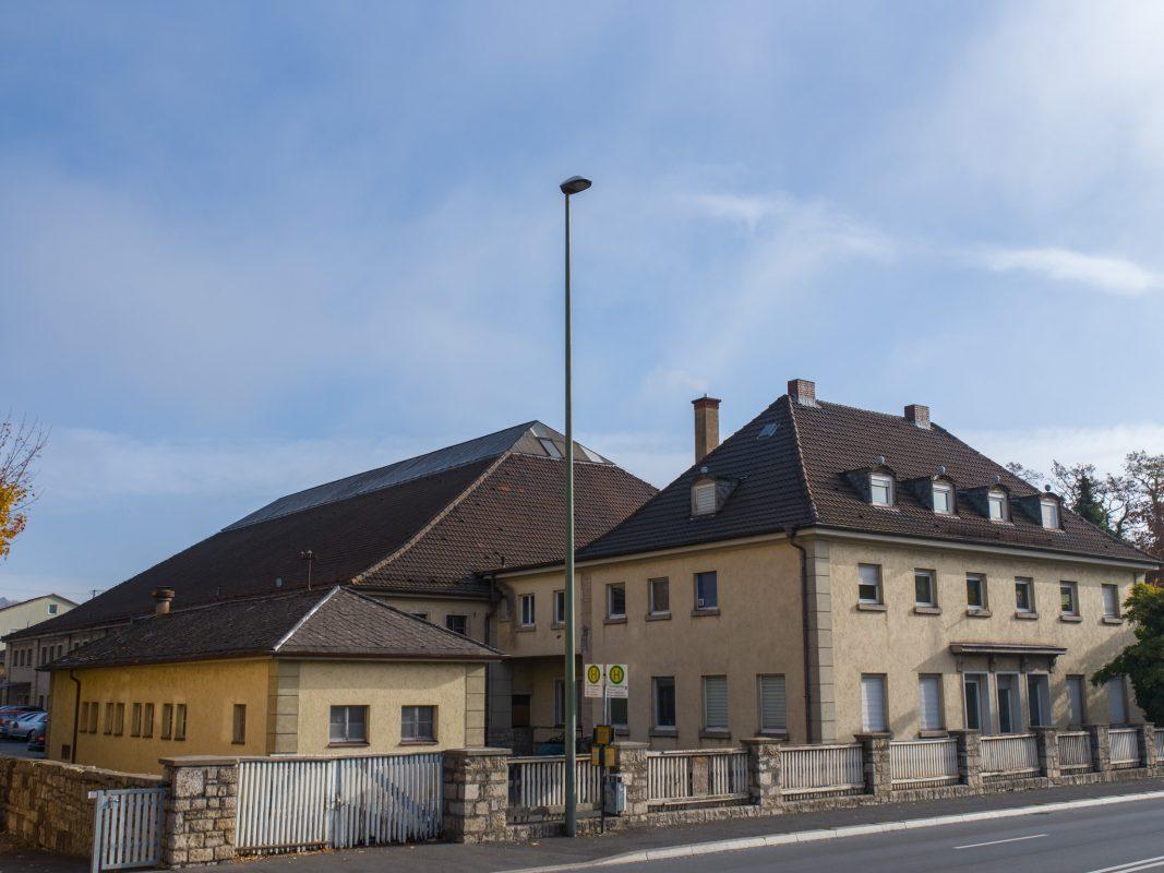 Frankenhalle in der Veitshöchheimer Straße. Foto: Pascal Höfig