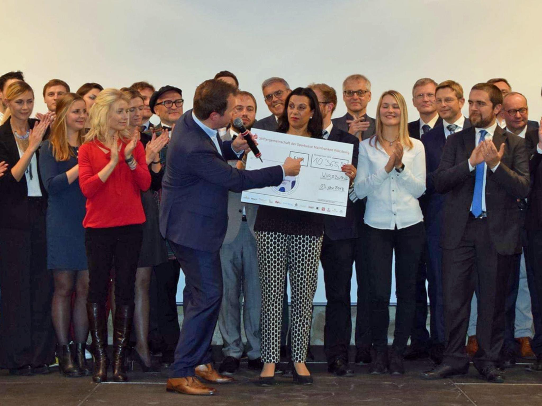 "Förderpreisgala ""Forschung Hilft"". Foto: Angelika Cronauer"