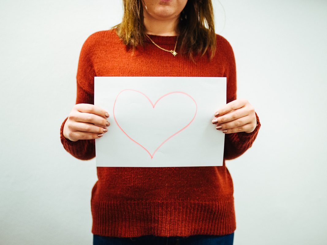 Ein Herz für Bedürftige. Foto: Pascal Höfig.