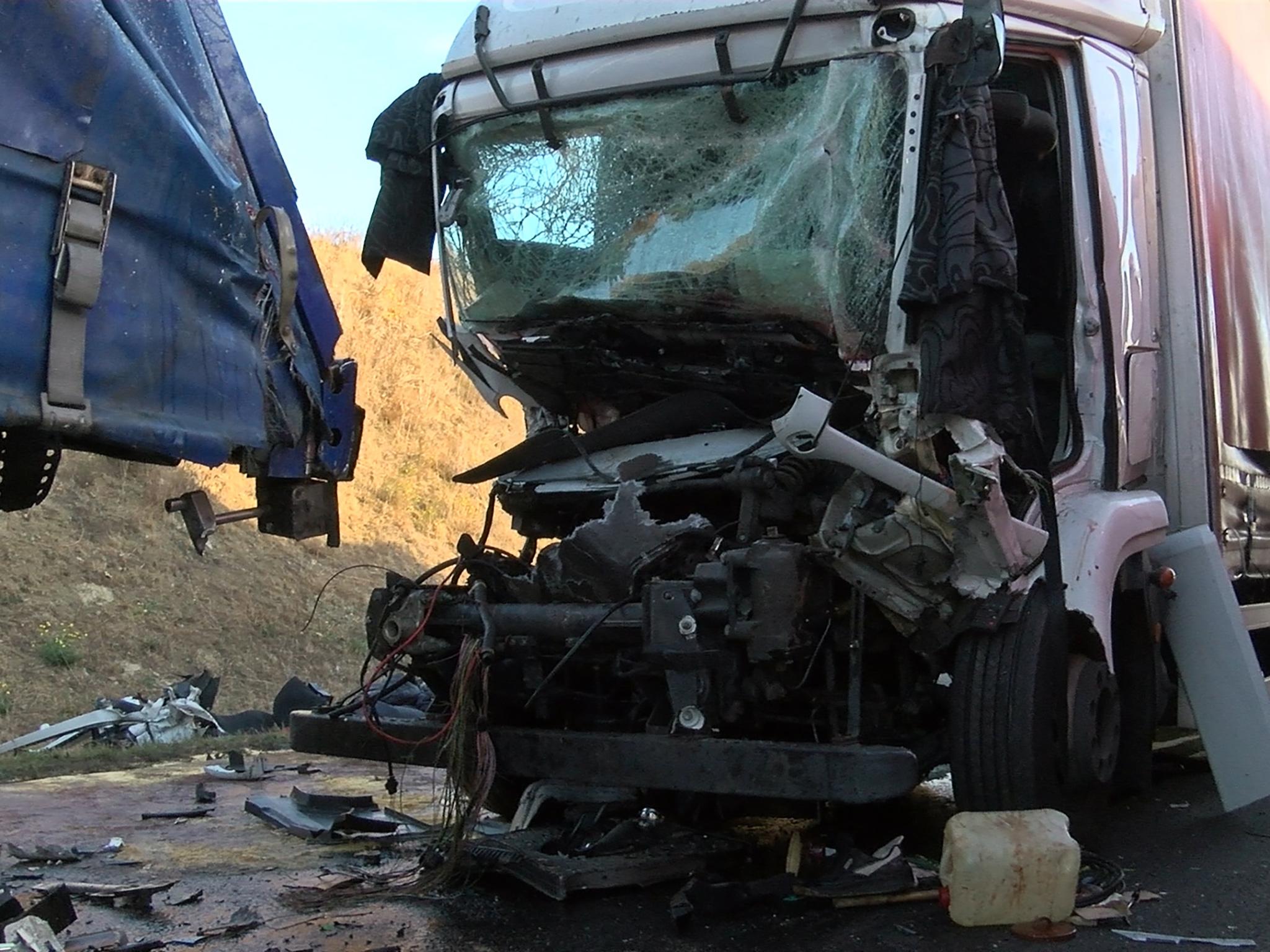 Der 60-jährige Unfallverursacher wurde in seinem Führerhaus eingeklemmt und verstarb noch vor Ort. Foto: Pascal Höfig