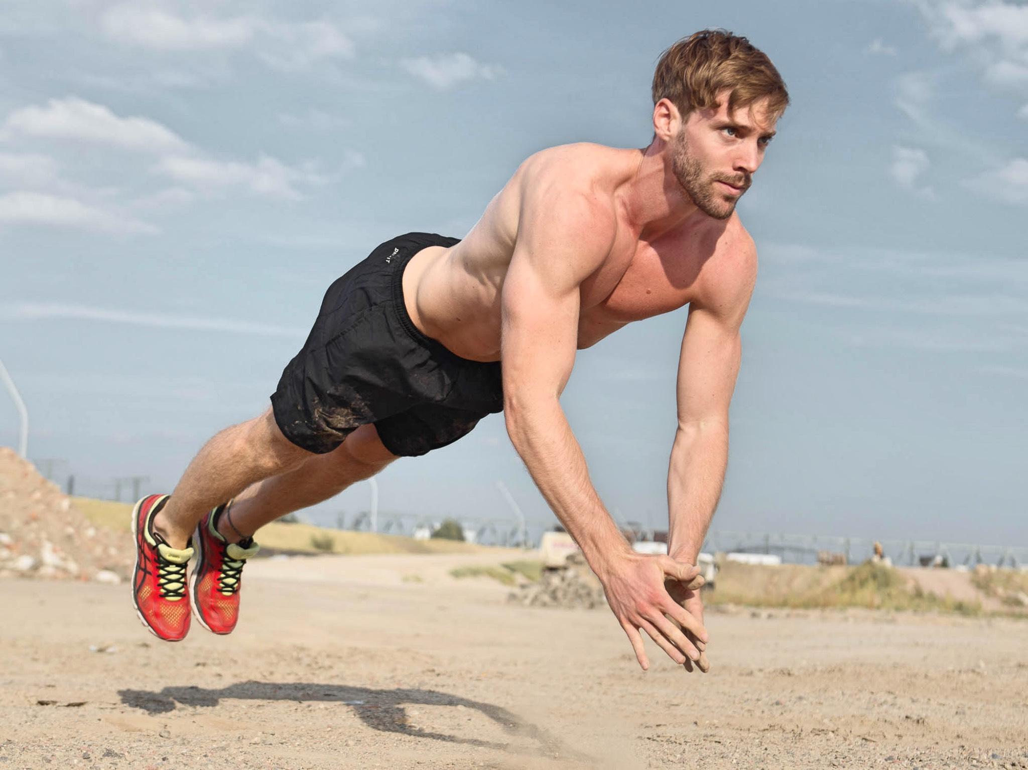 Philipp trainiert fünf bis sechs Mal die Woche. Foto: Philipp Seidenspinner