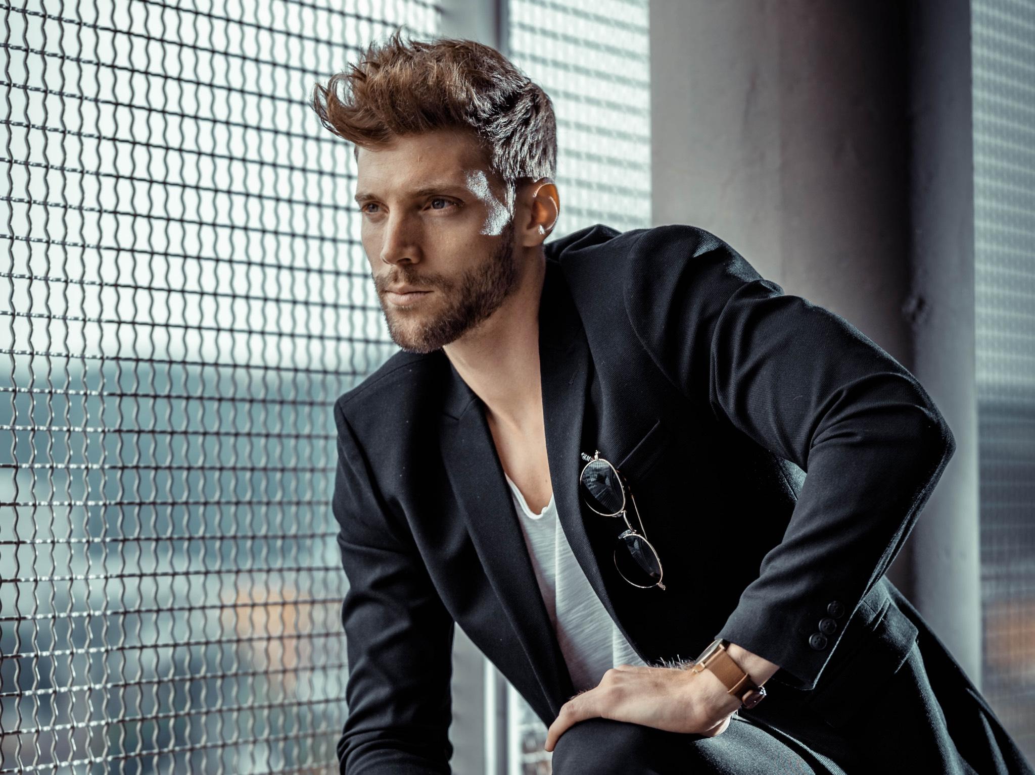 Philipp modelt auch erfolgreich. Foto: Philipp Seidenspinner