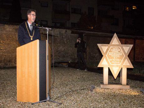 Gedenkstunde für Gefallene der Pogromnacht
