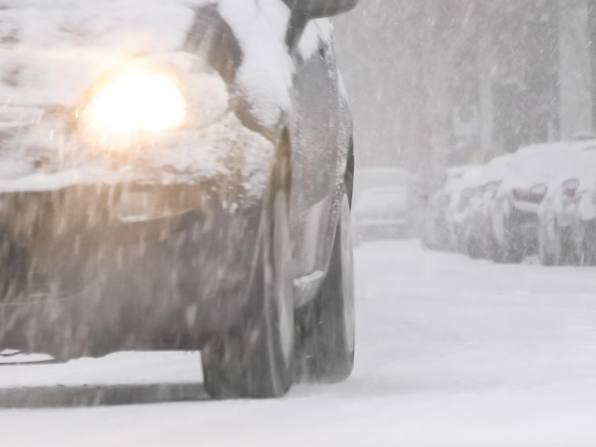 Winterliche Straßenverhältnisse. Foto: Pascal Höfig