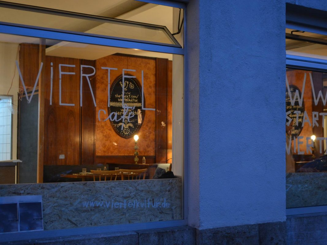 Das Viertelcafé in der Zellerau. Foto: Nina Ditterich