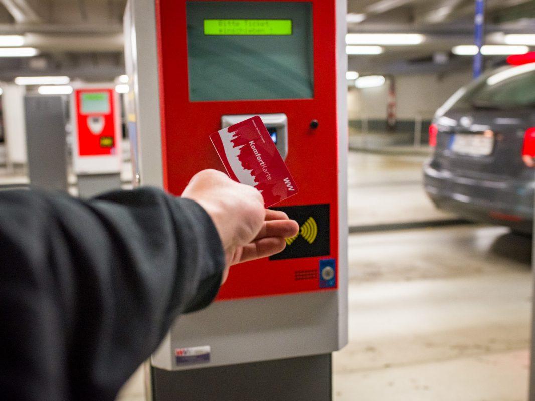 Ohne Gang zum Parkautomaten! Foto: Pascal Höfig