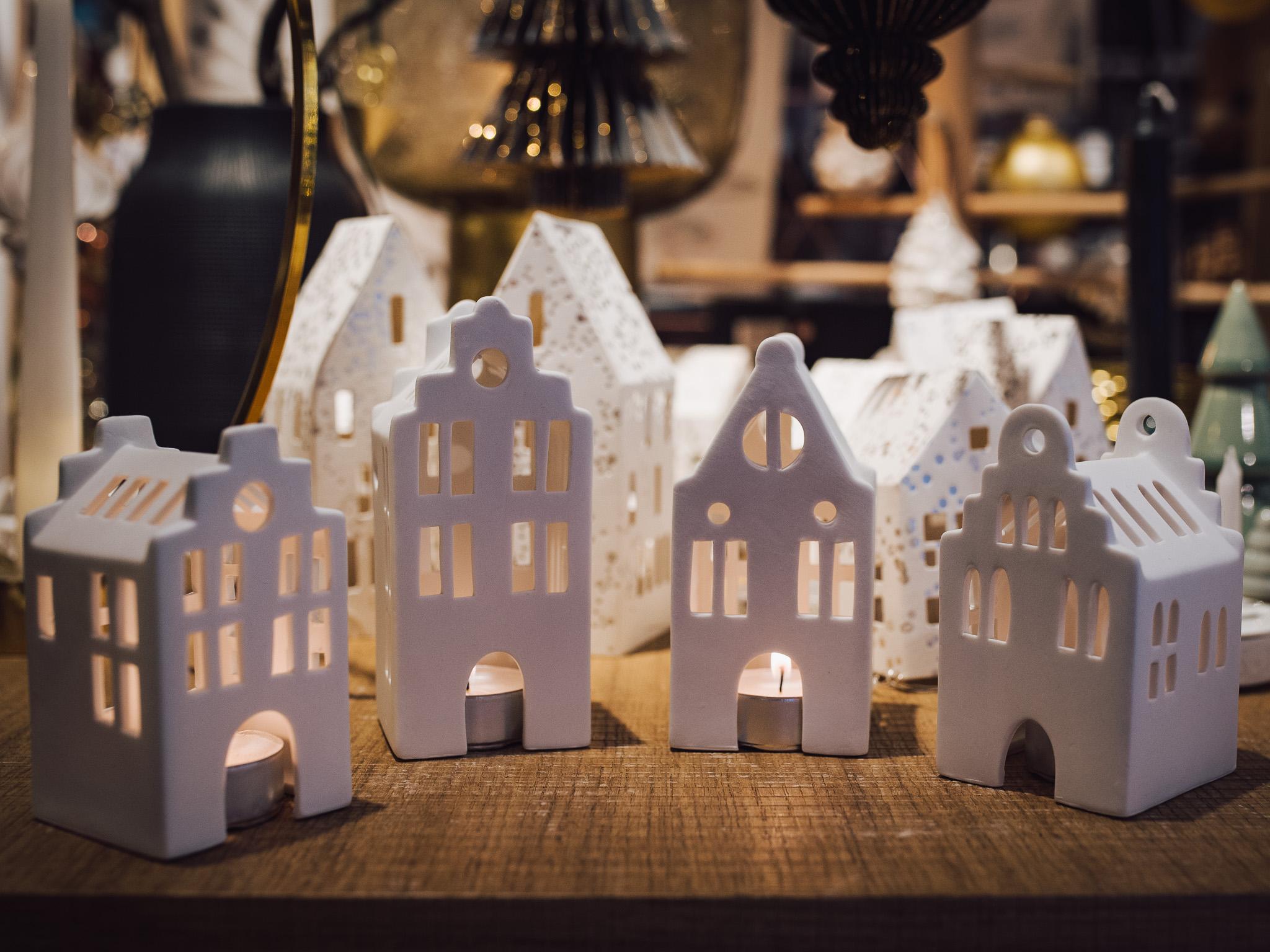 Süße Teelichthäuser. Foto: Pascal Höfig