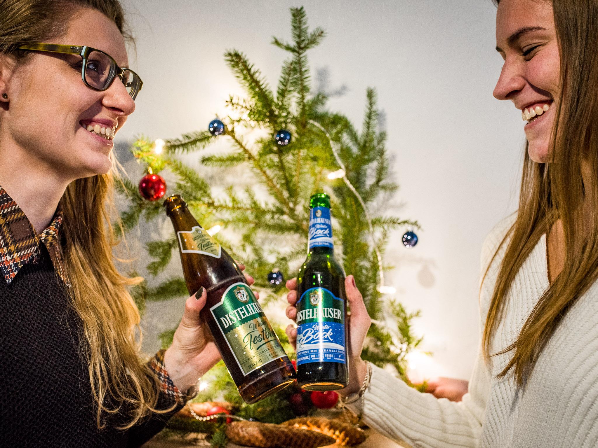 Winterfestbier und Winterbock runden die weihnachtliche Saison ab. Foto: Pascal Höfig