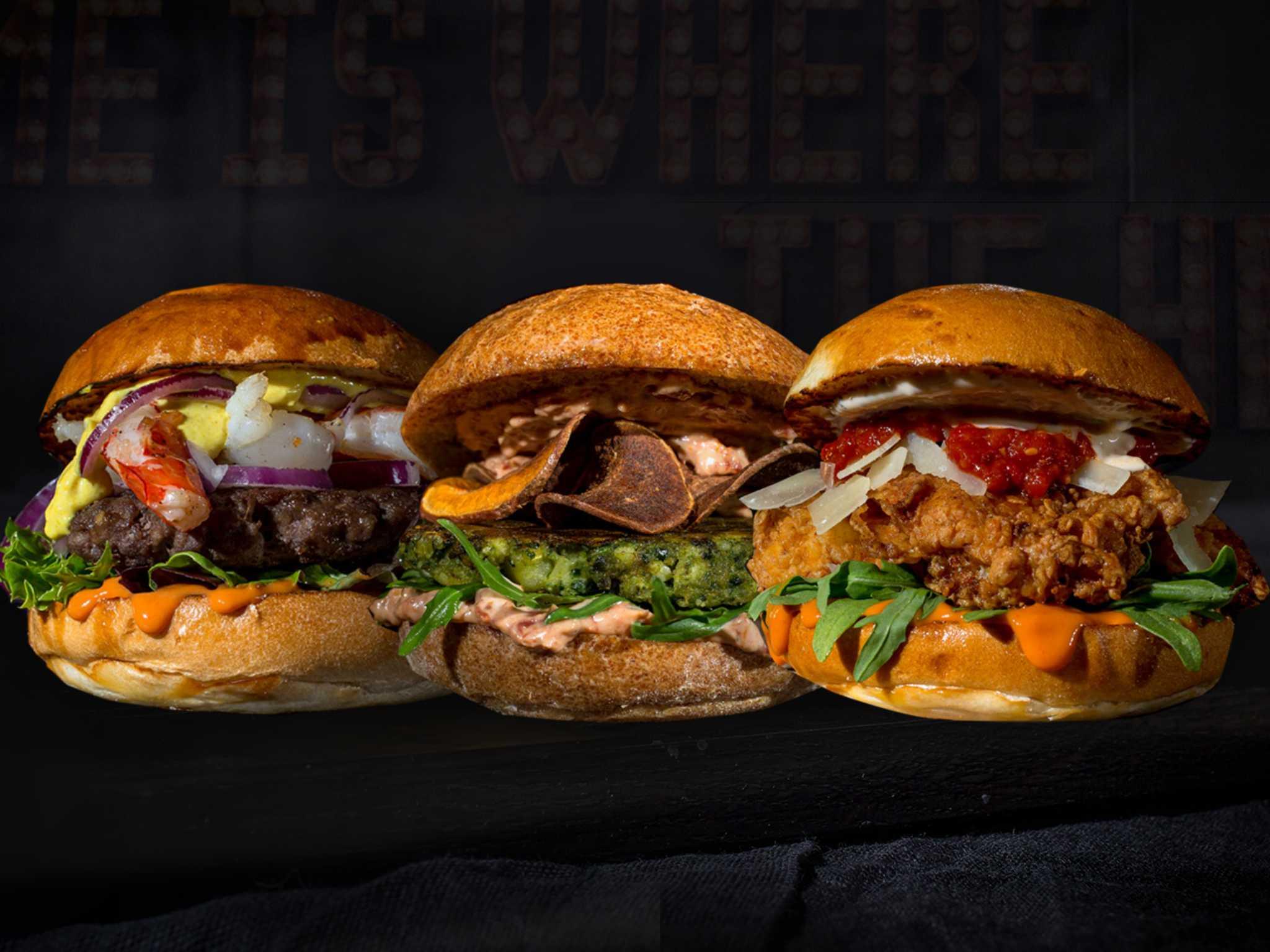 Die neuen Burger von Burgerheart Foto: Burgerheart