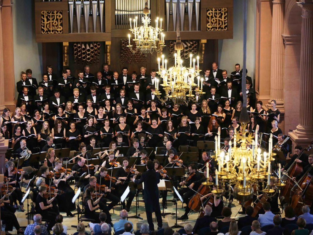 Der Monteverdichor. Foto: Monteverdichor