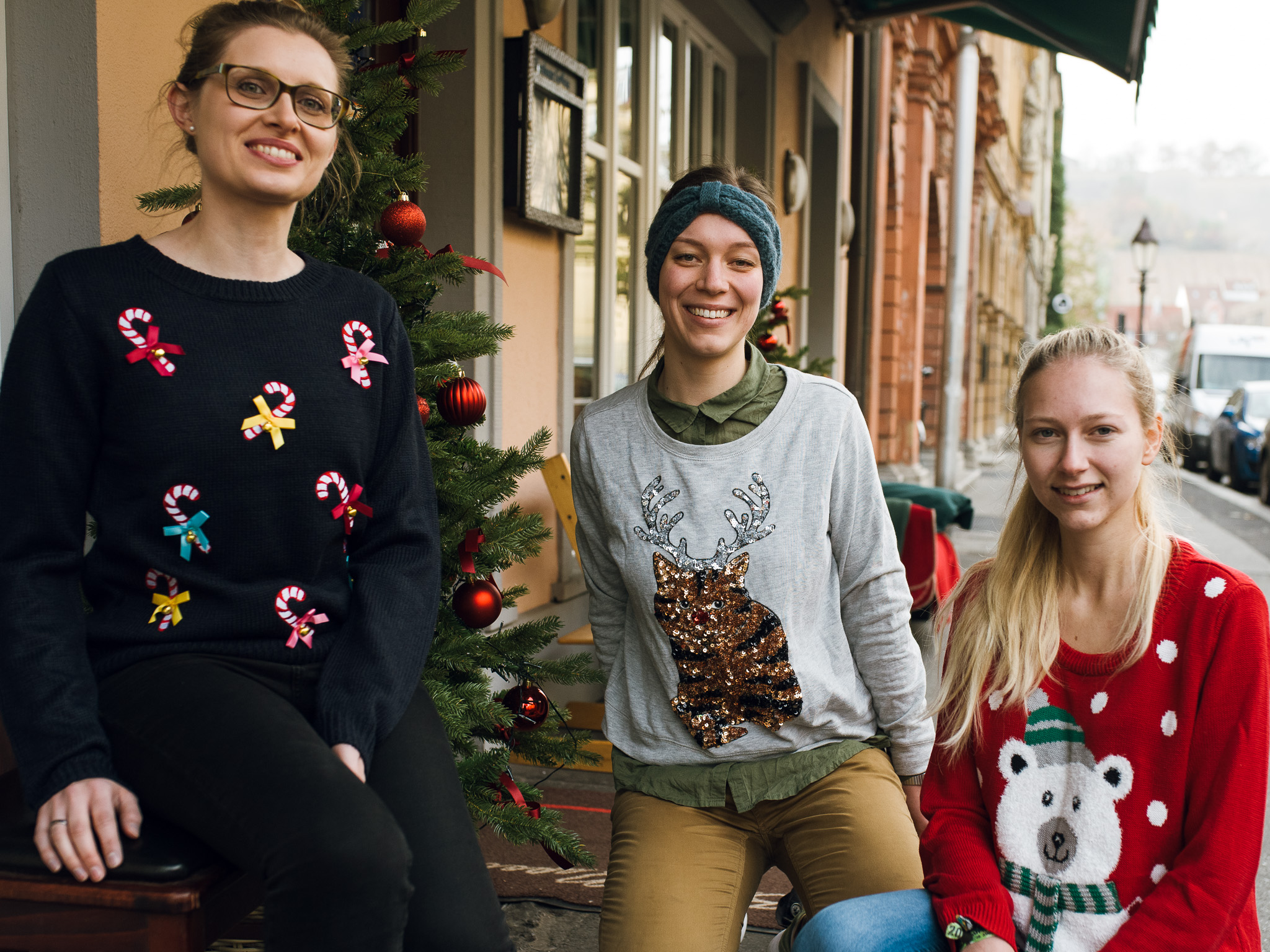 Sind die Ugly Christmas Sweater wirklich so ugly? Foto: Pascal Höfig