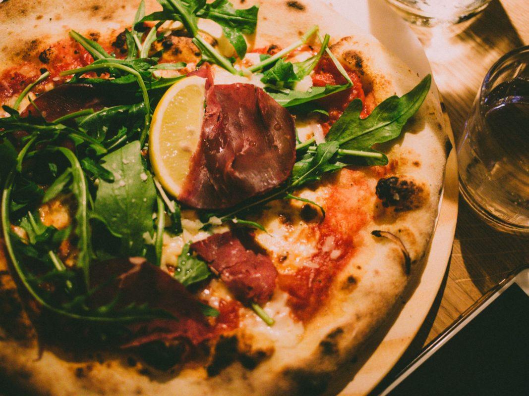 Pizza mit einizgartigem Geschmack. Foto:
