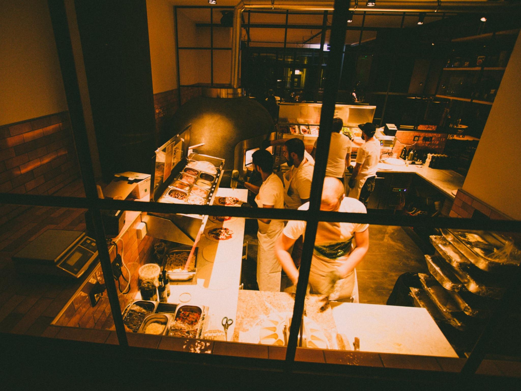 Authentisch neapolitanisch bei MariaMaria - Bar und Restaurant. Foto: