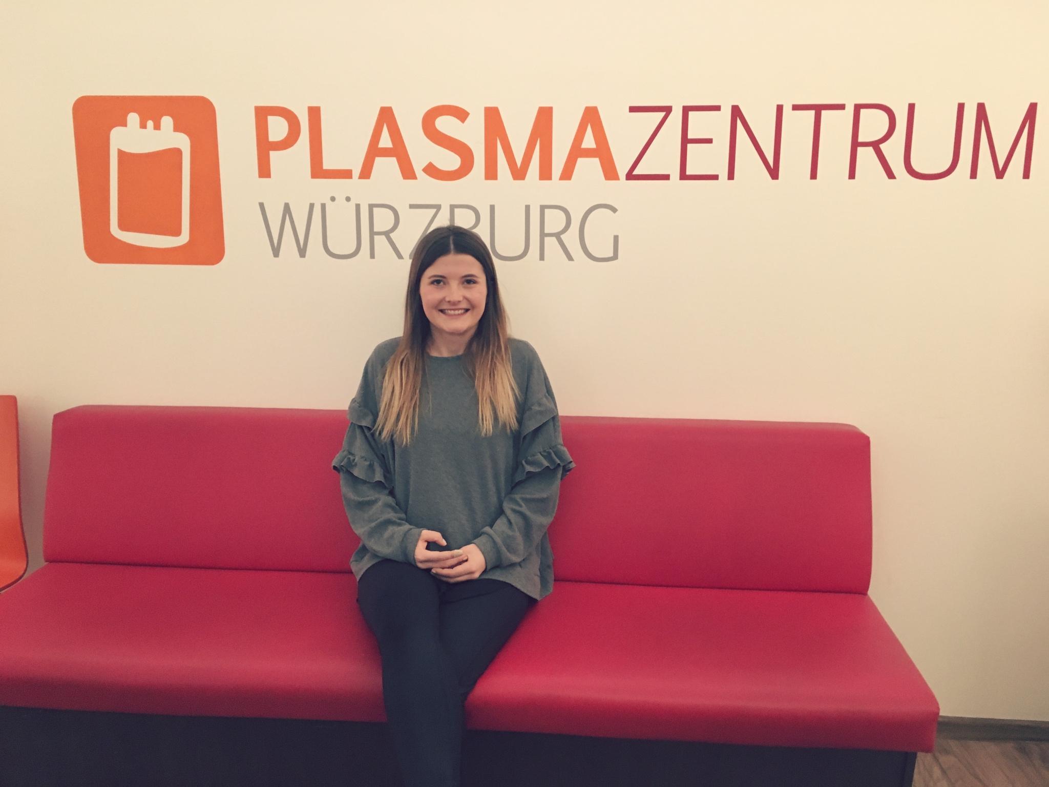 Rette Leben mit deiner Spende im Plasmazentrum Würzburg. Foto: Jasmina Scholz