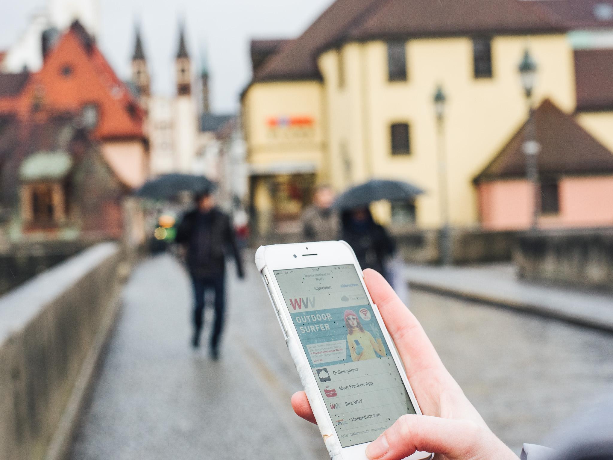 Entspannt unterwegs ohne mobiles Datenvolumen! Foto: Pascal Höfig