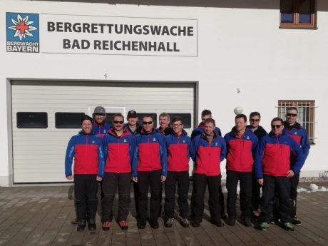 Das Team der Bergwacht Rhön - Spessart. Foto: Julian Bruhn