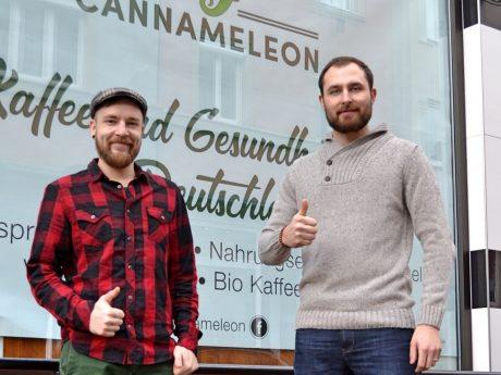 Ein Cannabis Shop eröffnet in Grombühl und das ganz legal. Foto: Lukas Schwarz