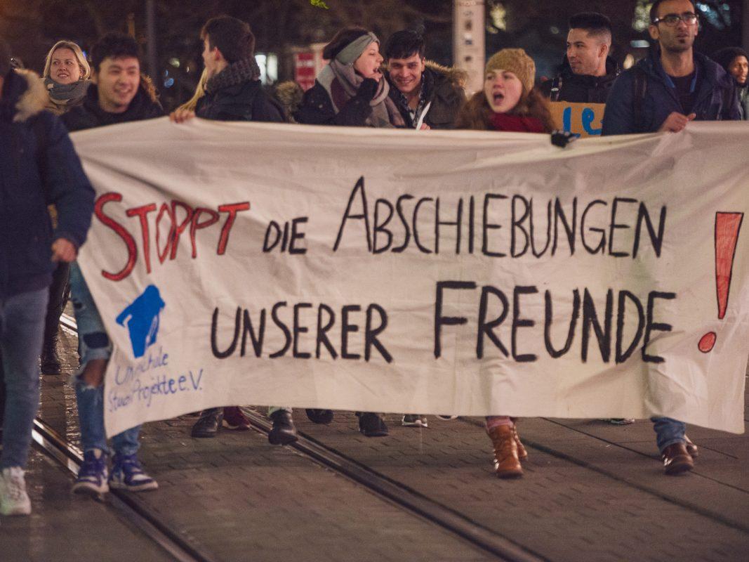 Demonstration gegen die Abschiebung nach Afghanistan. Foto: Pascal Höfig