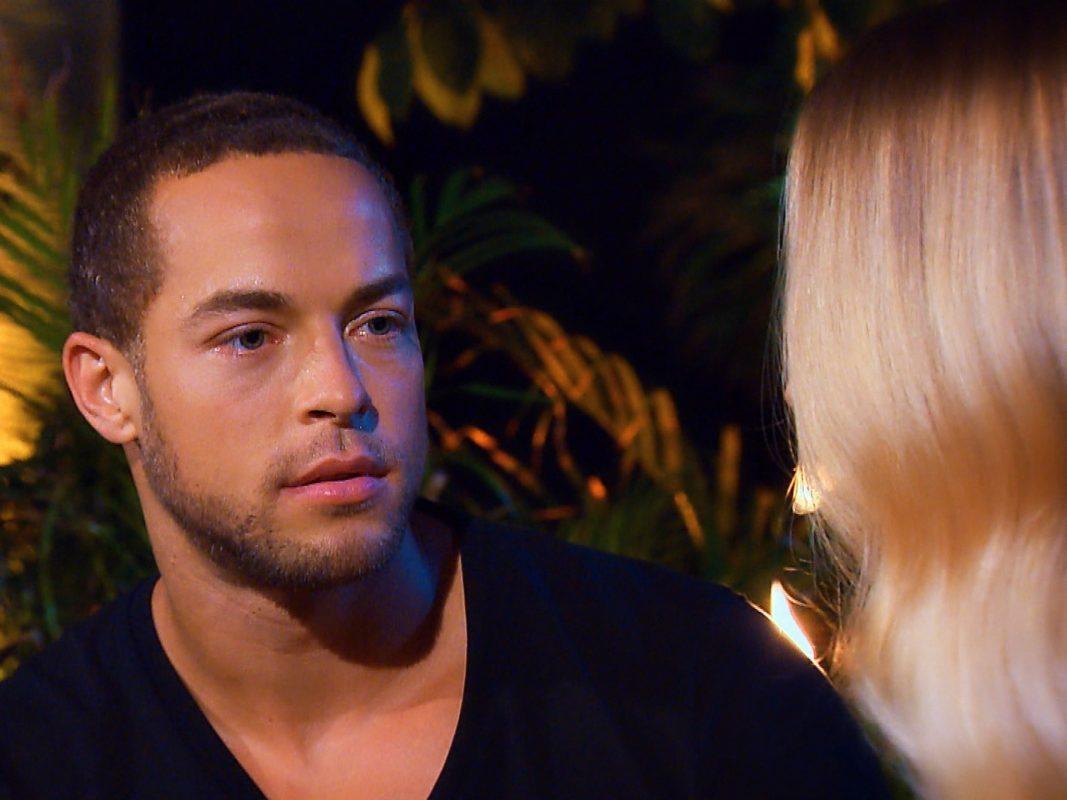 """Andrej ist sehr überrascht von Luisas Geständnis. """"Alle Episoden von """"Der Bachelor"""" bei TVNOW: www.tvnow.de"""". Foto: MG RTL D"""