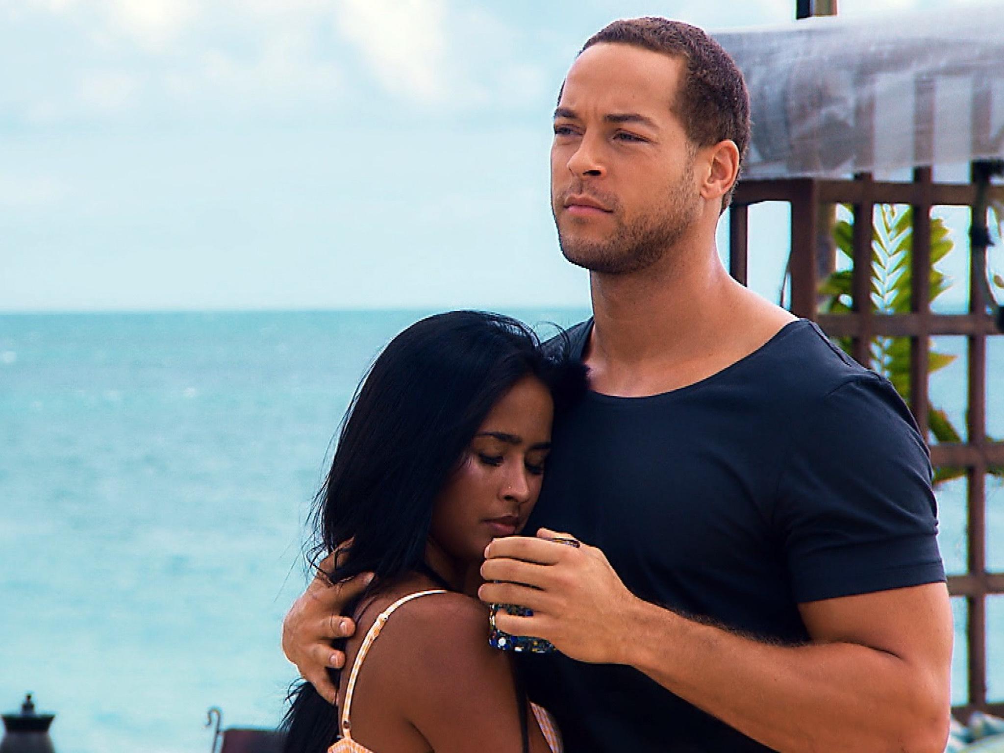 """Bei ihrem Date kommen sich Nathalia und Andrej näher. Alle Episoden von """"Der Bachelor"""" bei TVNOW: www.tvnow.de. Foto: MG RTL D"""