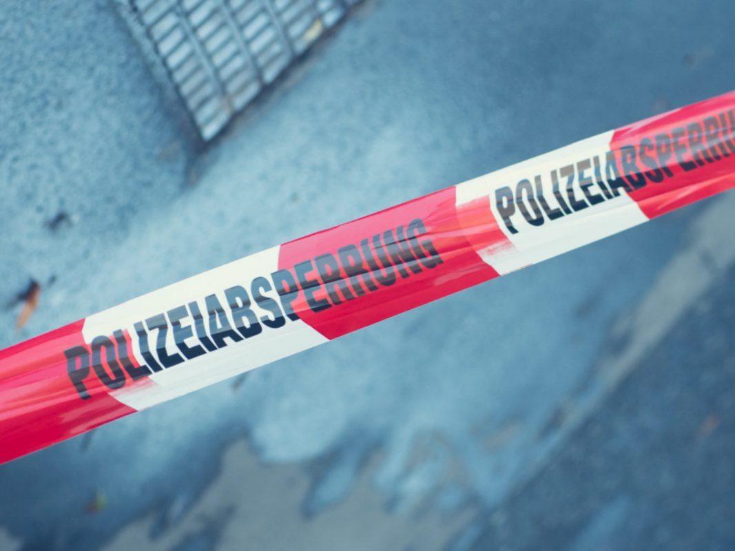 Symbolfoto Polizeiabsperrung. Foto: Pascal Höfig.