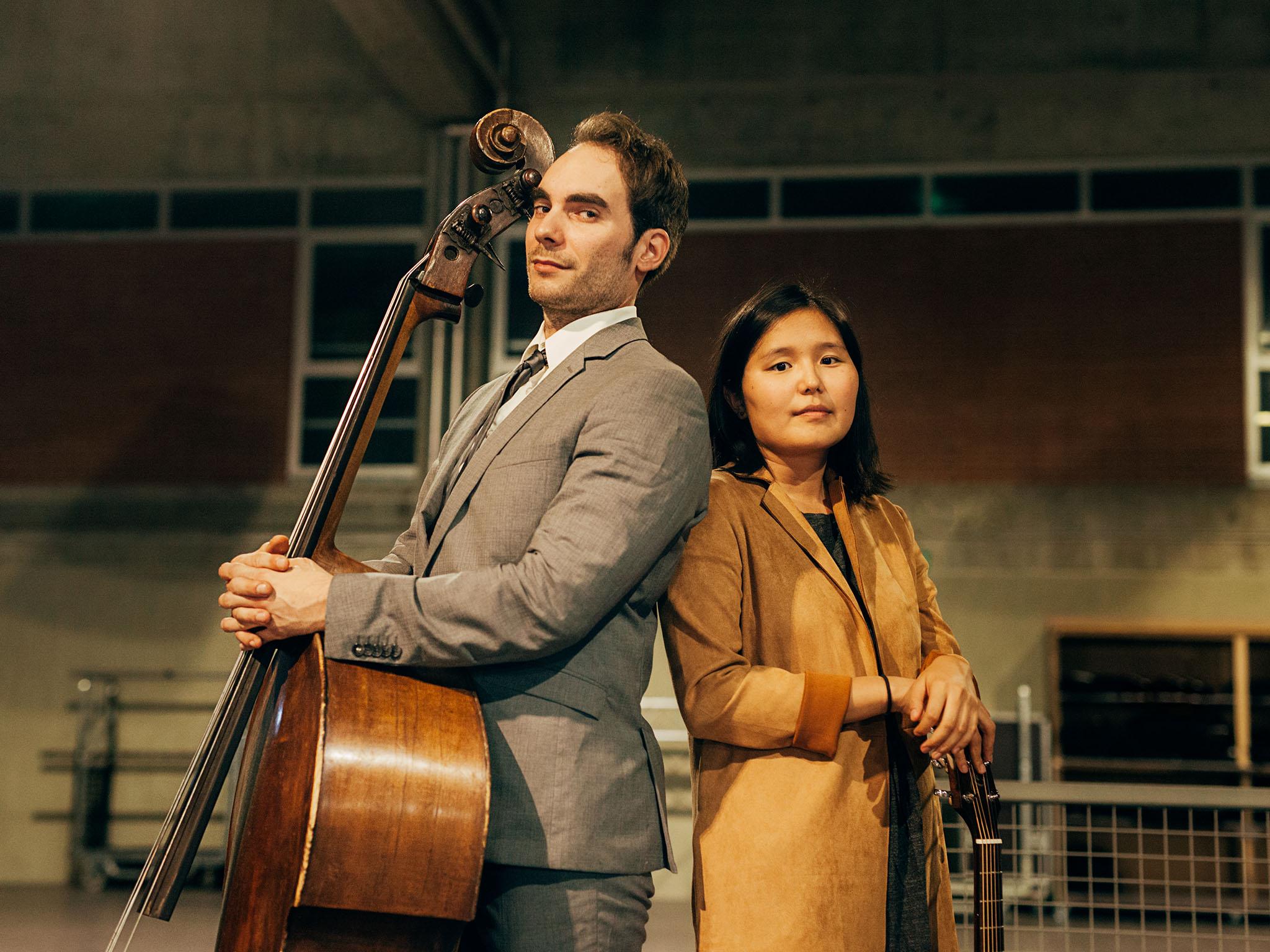 SaraTeamusician und Janosch. Foto: Lisa-Marie Kaspar