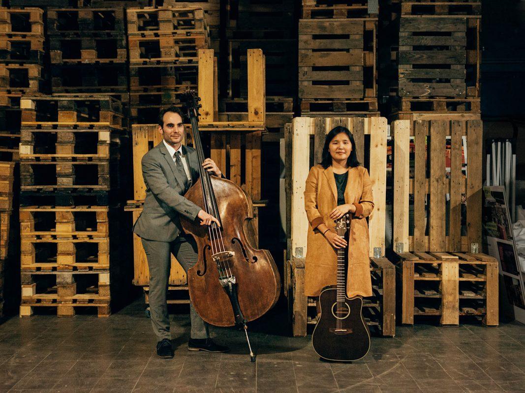 Sara Teamusician und Janosch. Foto: Lisa-Marie Kaspar