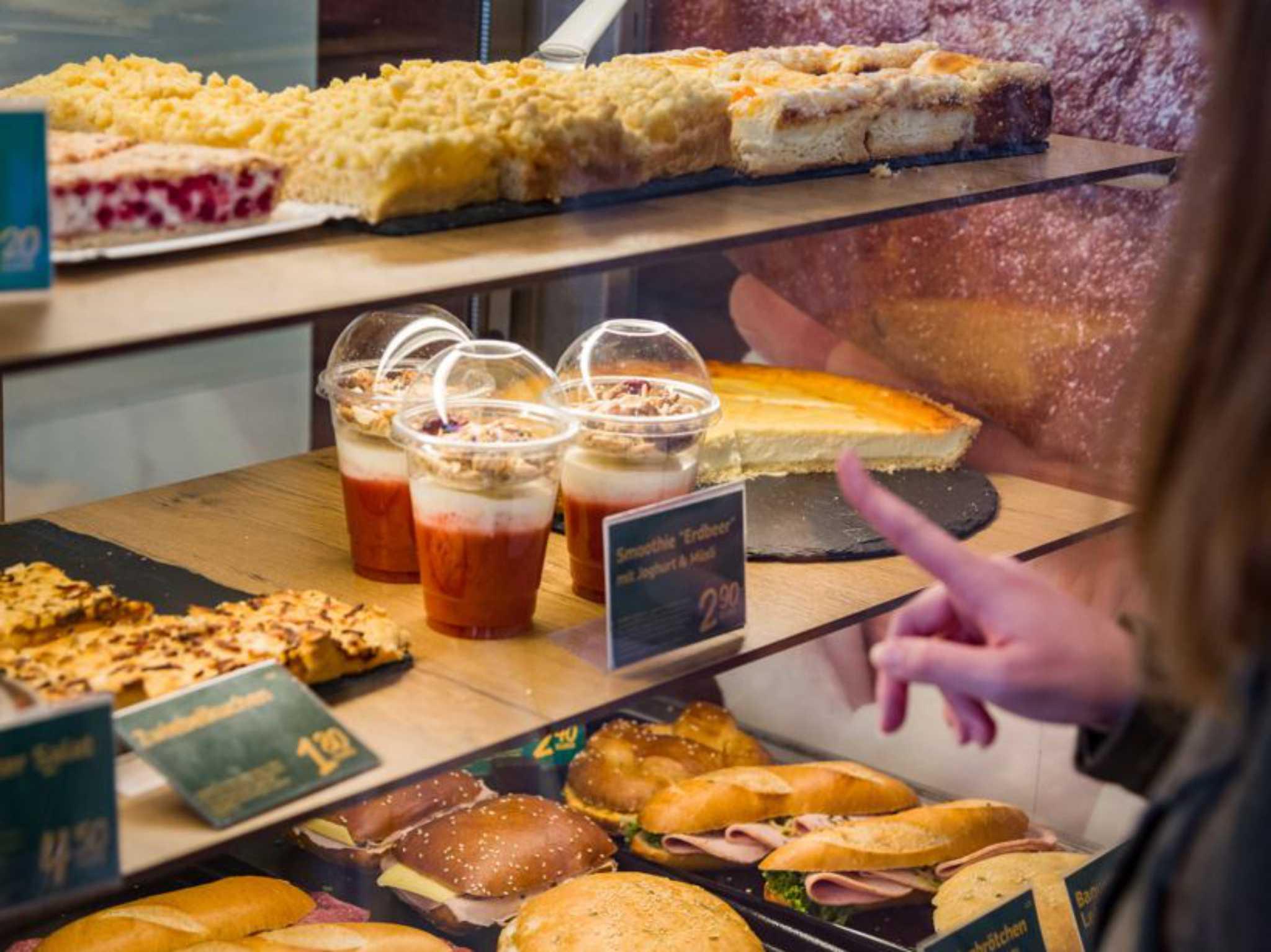 Smoothies der Bäckerei Webers. Foto: Pascal Höfig