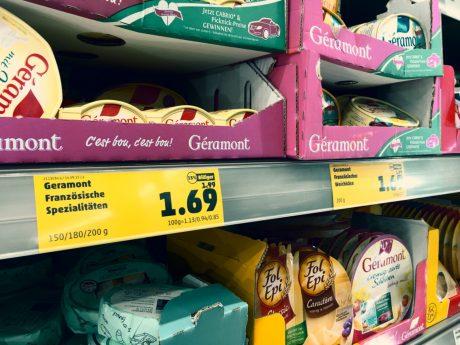 Regale im Supermarkt. Symbolfoto: Pascal Höfig