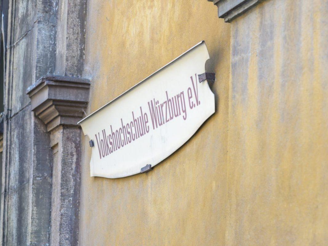 Volkshochschule Würzburg. Foto: Pascal Höfig
