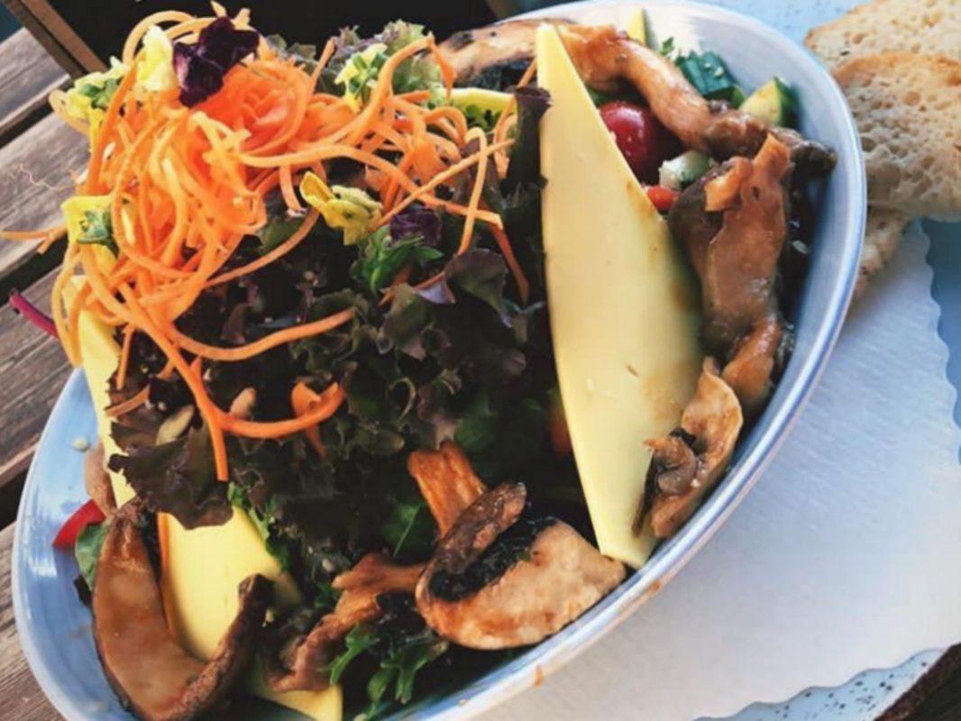 So lecker kann gesund sein, im Restaurant Vrohstoff. Foto: Sarah Willer