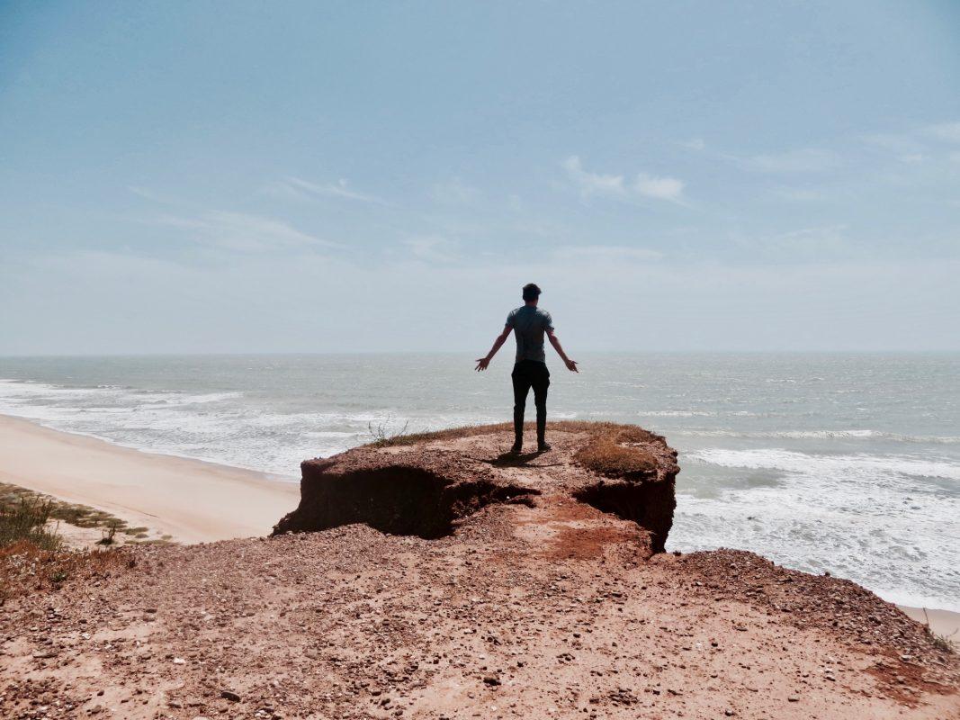 Sonne und Kraft Tanken an der Algarve - Jonas hat seine Wanderung genossen. Foto: Jonas Kron