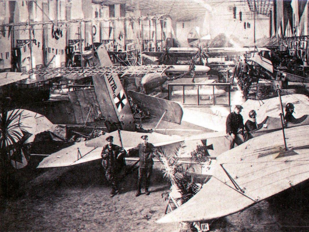 Luftfahrt-Ausstellung 1917: Sammlung Willi Dürrnagel, Würzburg