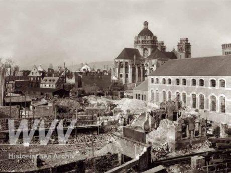 Auch Aufnahmen wie diese sind auf der Sonderausstellung im WVV-Betriebswerk zu bewundern. Quelle: Historisches Archiv der WVV