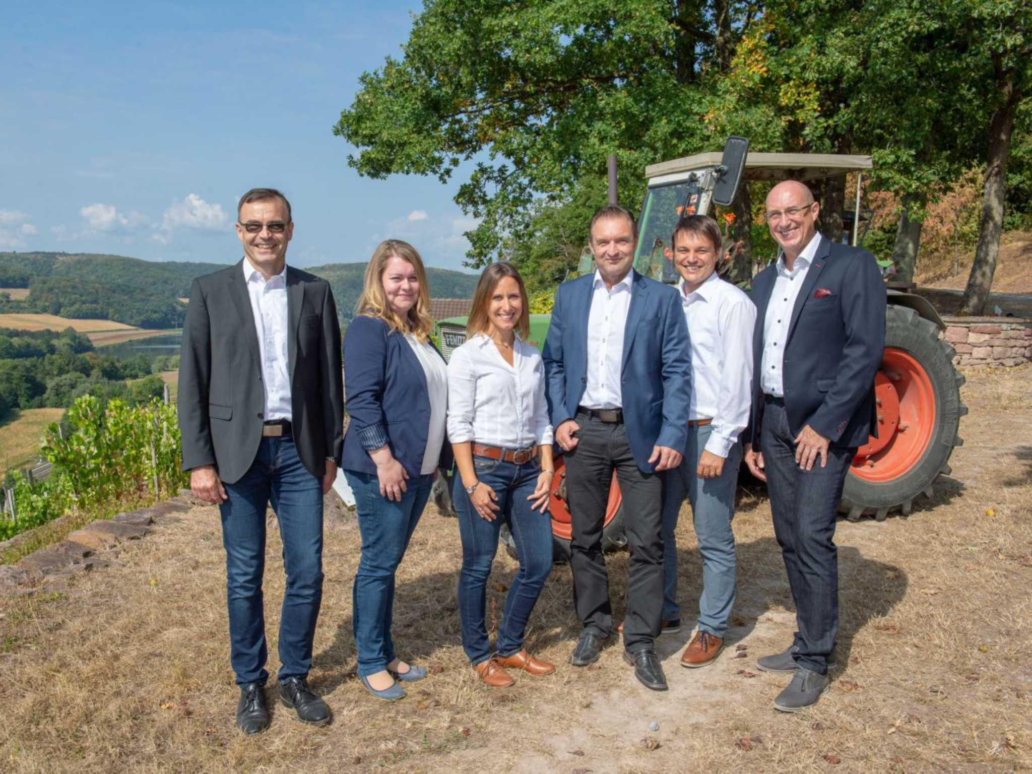 Agrarkundenberater Sparkasse Mainfranken Würzburg. Foto Sparkasse