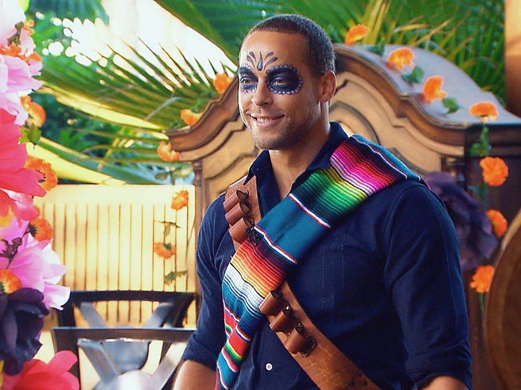 """Foto nur für Bachelor 2019 Berichterstattung! Zum traditionellen mexikanischen Feiertag """"DÌa de los Muertos"""" hat sich Andrej ein besonderes Date überlegt. Alle Episoden von """"Der Bachelor"""" bei TVNOW: www.tvnow.de. Foto: MG RTL D"""