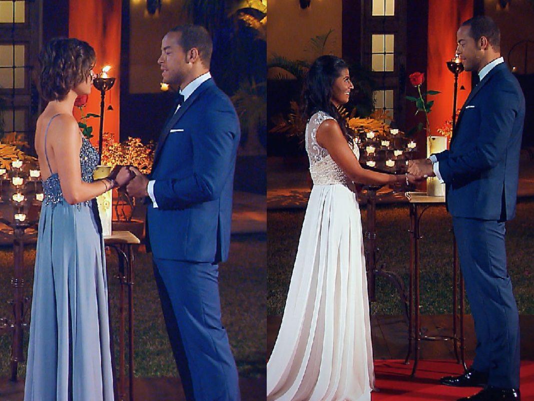 """Andrej hat Jennifer / Eva viel zu sagen. Konnte sie sein Herz erobern und wird Andrej ihr die letzte Rose überreichen? Alle Episoden von """"Der Bachelor"""" bei TVNOW: www.tvnow.de. Foto: MG RTL D"""