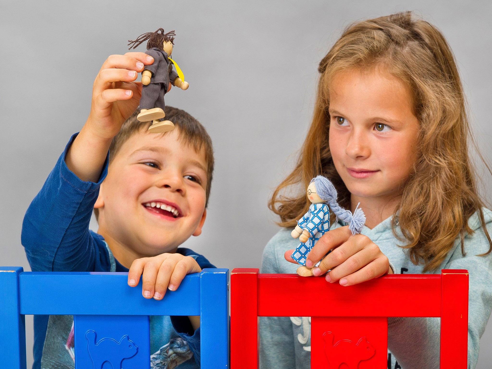 Ausstellung Kinder(T)räume. Puppenspiel. Foto: Katja