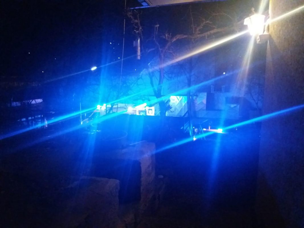 Zahlreiche Einsatzkräfte gestern in der Lindleinsmühle. Foto: Privat