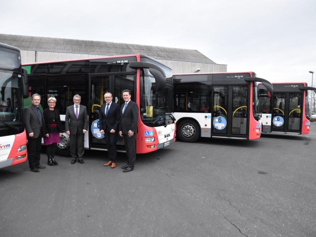 90 Prozent Weniger Stickoxide Bei Bussen Der Wvv Würzburg