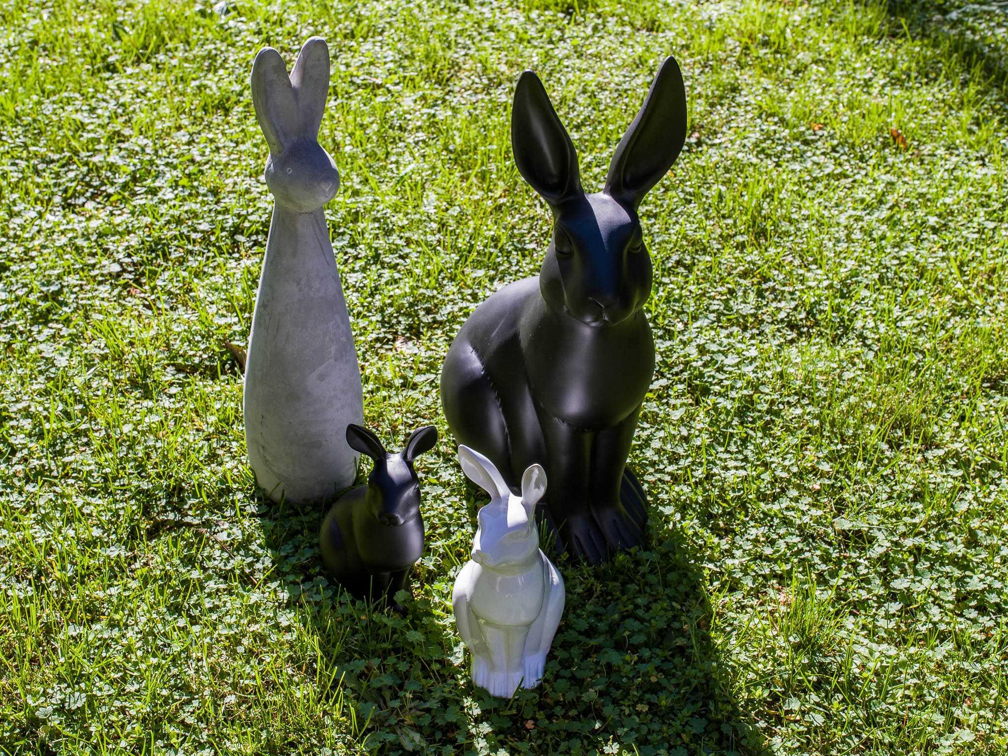Osterhasen in verschiedenen Größen. Foto: Pascal Höfig