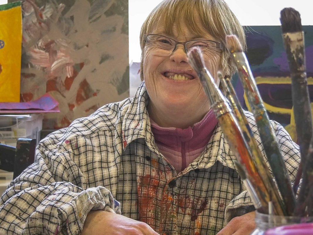 Am 21. März ist der Welt-Down-Syndrom-Tag. Foto: Dominik Ziegler.