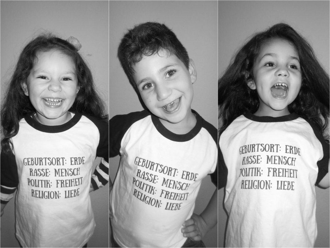 Gizem, Hamza & Josefina aus dem Kinderhaus Kleiner Globus. Fotos: AWO Unterfranken